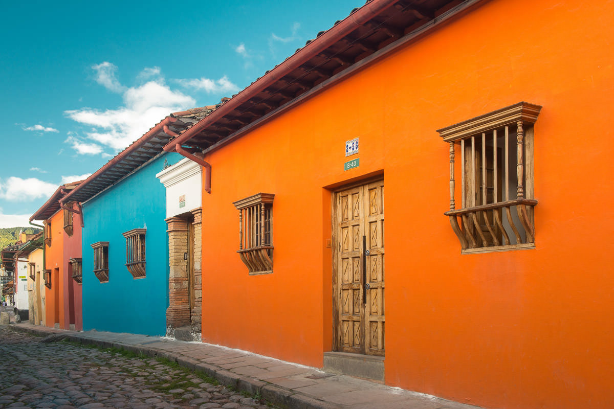 Where to eat in La Candelaria at night