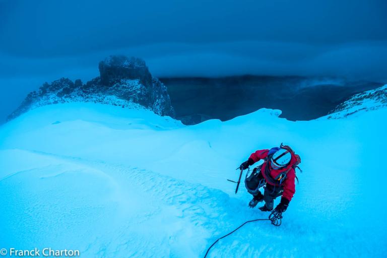 Ascenso al glaciar del Tolima