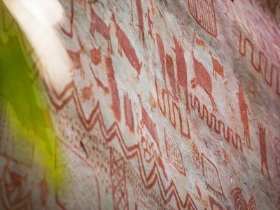 Guaviare San Jose del Guaviare colombia Caminatas Equipe Aventure Colombia Guaviare Paseo Integracion Puerta de Orion rupestre guaviare San Jose del Guaviare TristanTristan Quevilly Solo AC