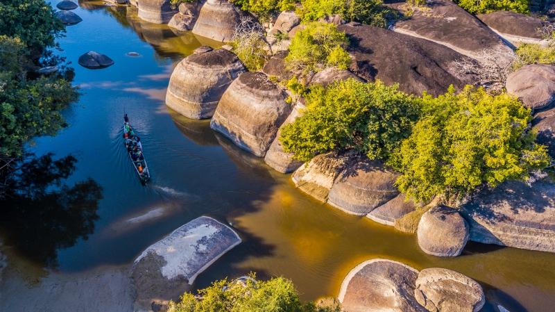 Vichada Rio Orinoco Colombia Parque Tuparro @MathieuPerrot Bohringer