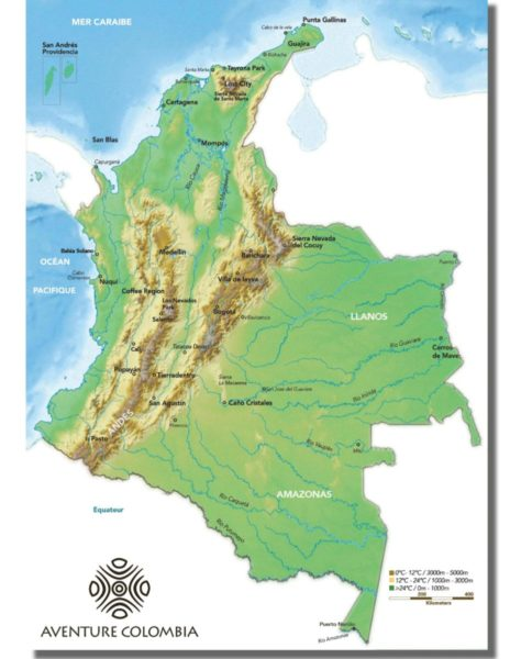geography colombia