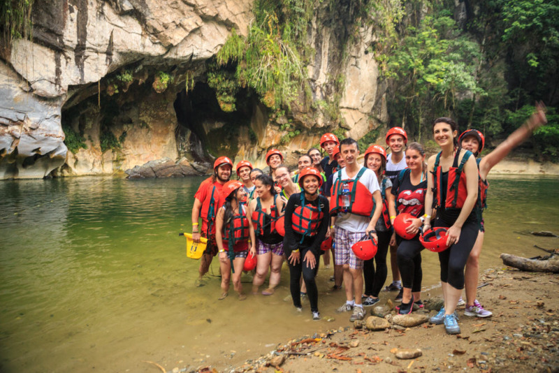 team aventure colombia rio claro colombia @Tristan Quevilly